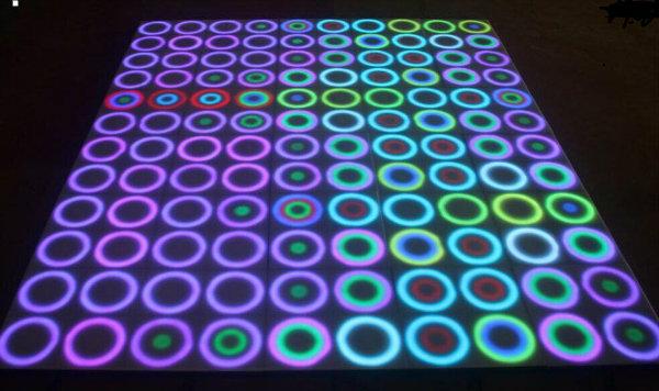 Durable LED Mirror Panel Dancing Floor Light