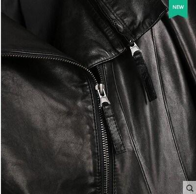 Short Genuine Leather Jacket for Women