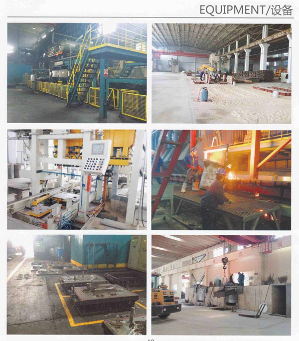 Iron Sand Casting Aluminum Sand Casting for Machinery Parts