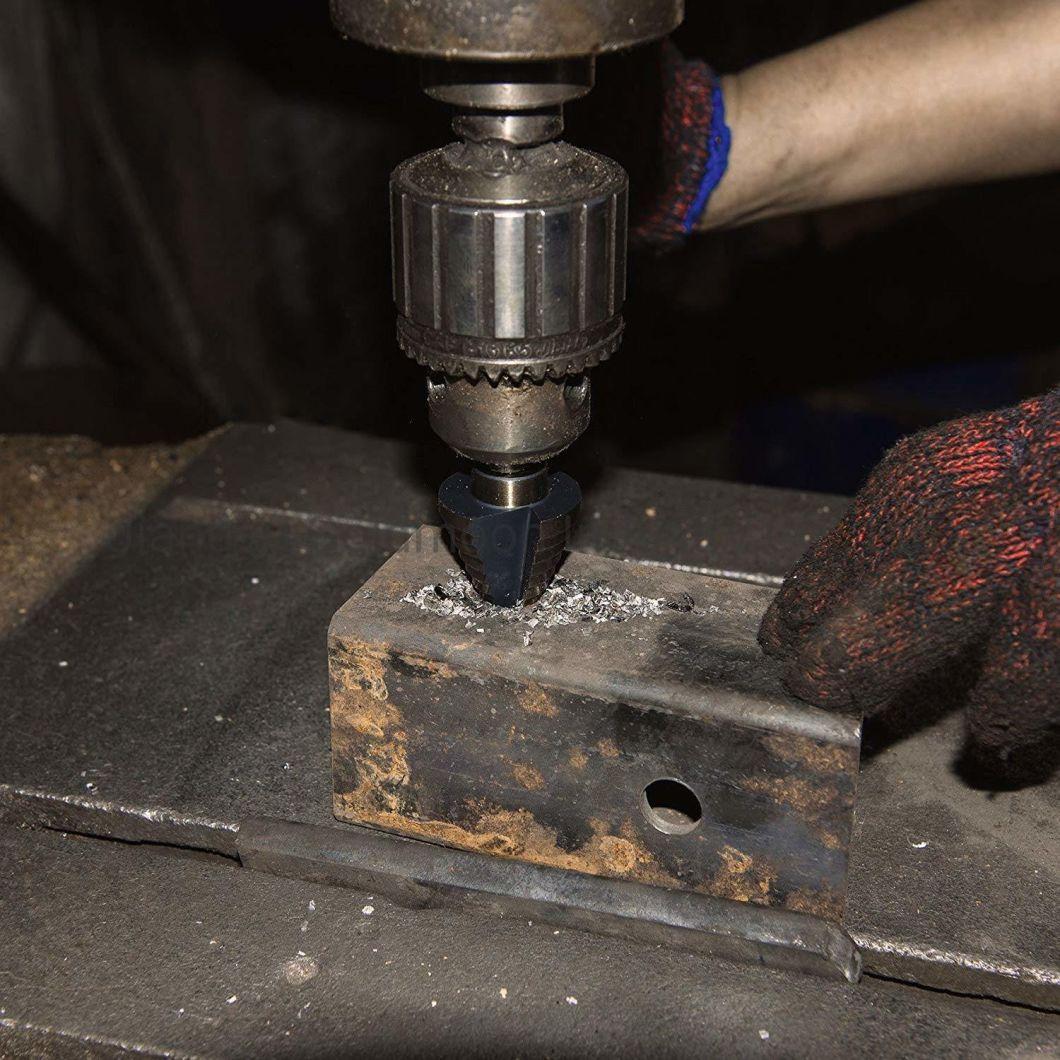 Step Drill Bits Kit in Aluminum Case