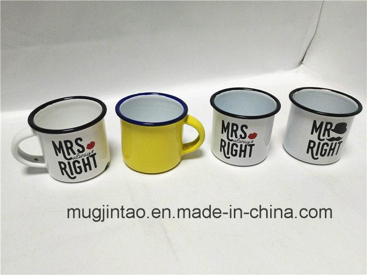Hot Sale Enamel Metal Mug for Daily Life