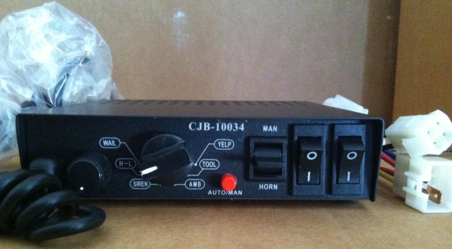 Amplifier for Police Car (CJB10034)