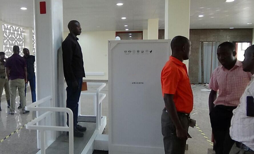 Low Dose Screening Full Body Human X Ray Security Scanner
