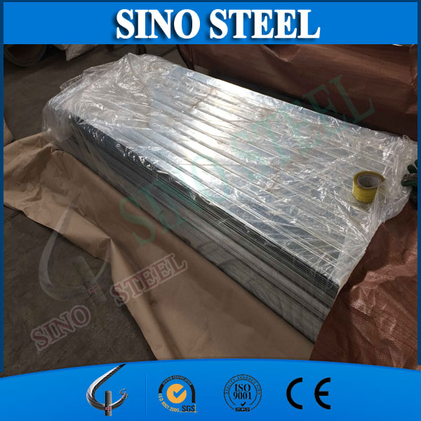Z80 0.17mm Thickness Corrugated Galvanized Roofing Steel Sheet