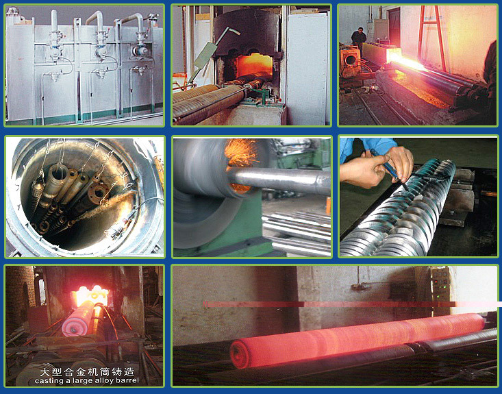 Single Screw and Barrel for Recycling Masterbatch Extruder