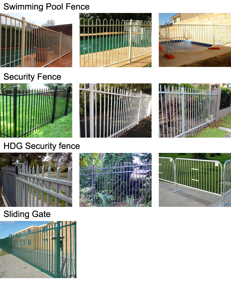 Building Material Residential Aluminum Steel Iron Swimming Pool Safety Fence, Ornamental Wrought Iron Fence