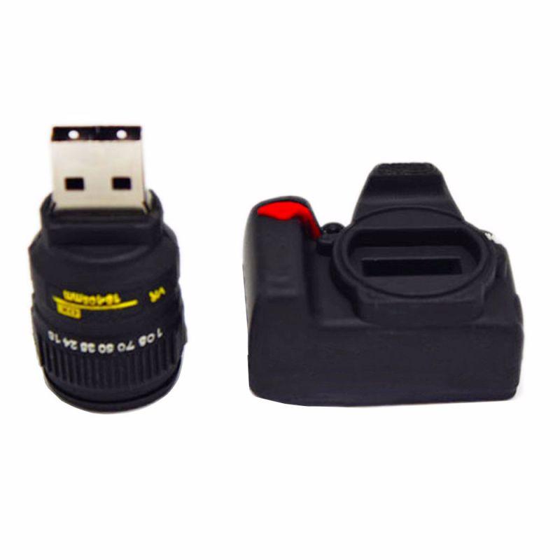 Creative Camera U Disk 3D Design USB Pen Drives