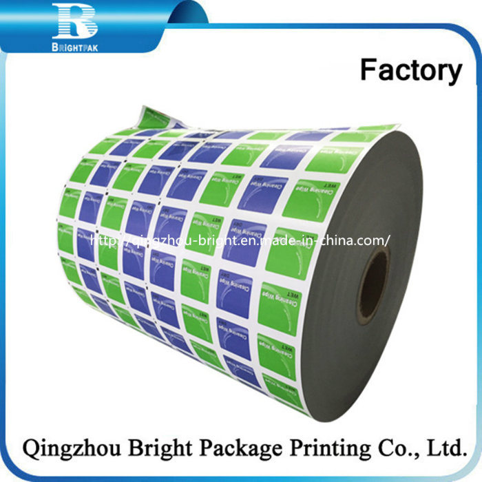 Pet/Al/PE Laminated Packaging Roll Films for Beef Jerky Food Wrapping