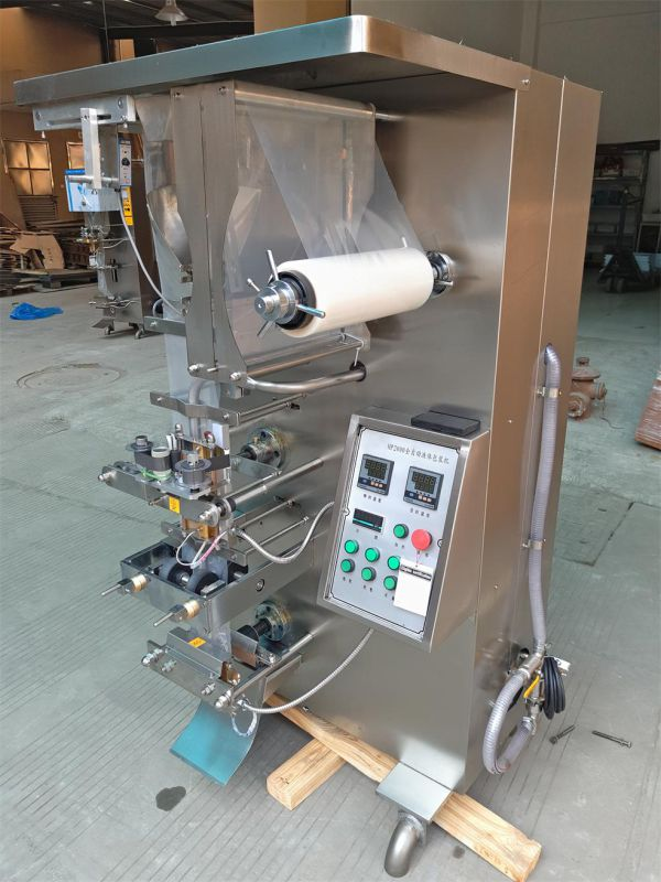 HP1000L-B Side Seal Automatic Liquid Packing Machine for 200-500ml Water