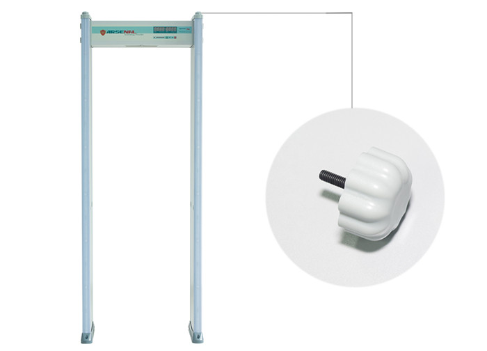 Door Frame Metal Detector with Double Infrared Design Alarm Infrared for Schools