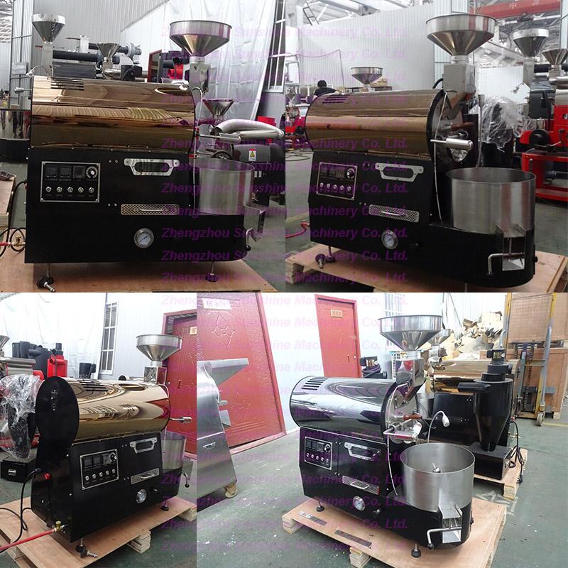 Top Quality Mini Coffee Roasting Machine Luxury 1kg Coffee Roaster