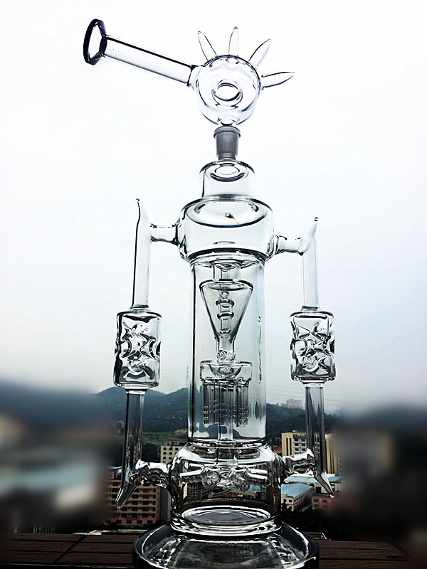 2016 New Arrival Wholesale Recylce Glass Water Pipe