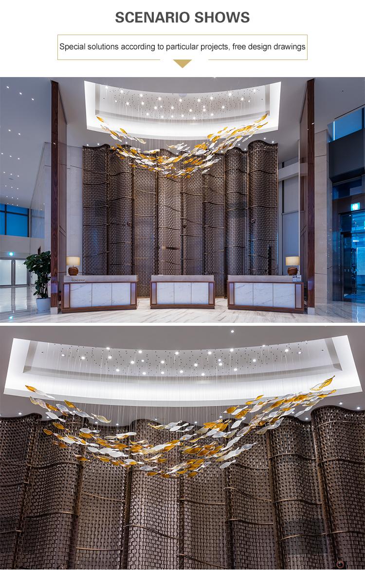 chandelier for restaurant hotels