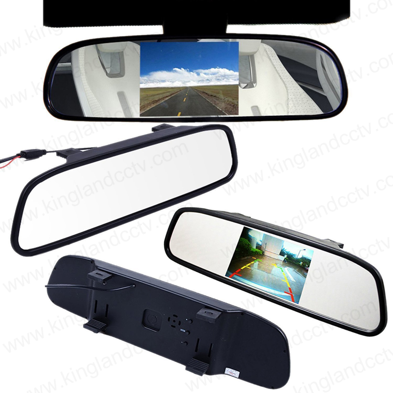 4.3 Inches Backup Rear View Mirror Monitor for Car