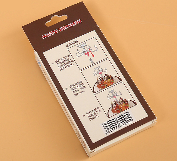 professional Manufacture Custom High Quality Candle Packaging Box