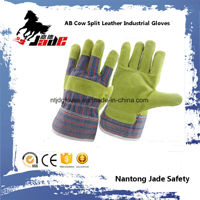Industrial Safety Cowhide Split Leather Work Gloves