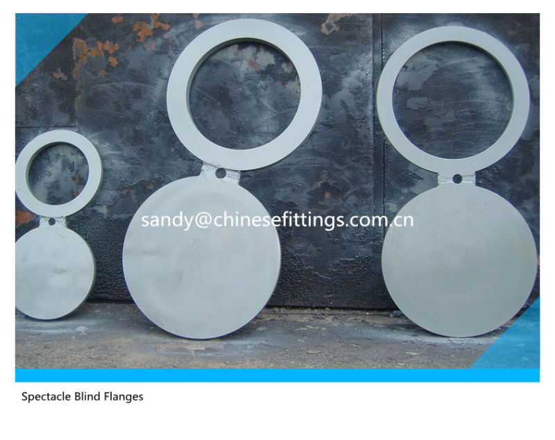 Paddle Blank and Spacer Ring Spectacle Blind Flanges
