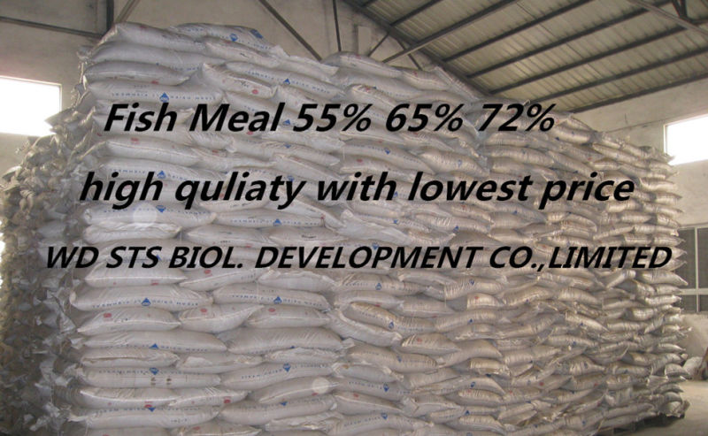 Hot Sale Fish Meal for Chicken Feed with 65% Protein