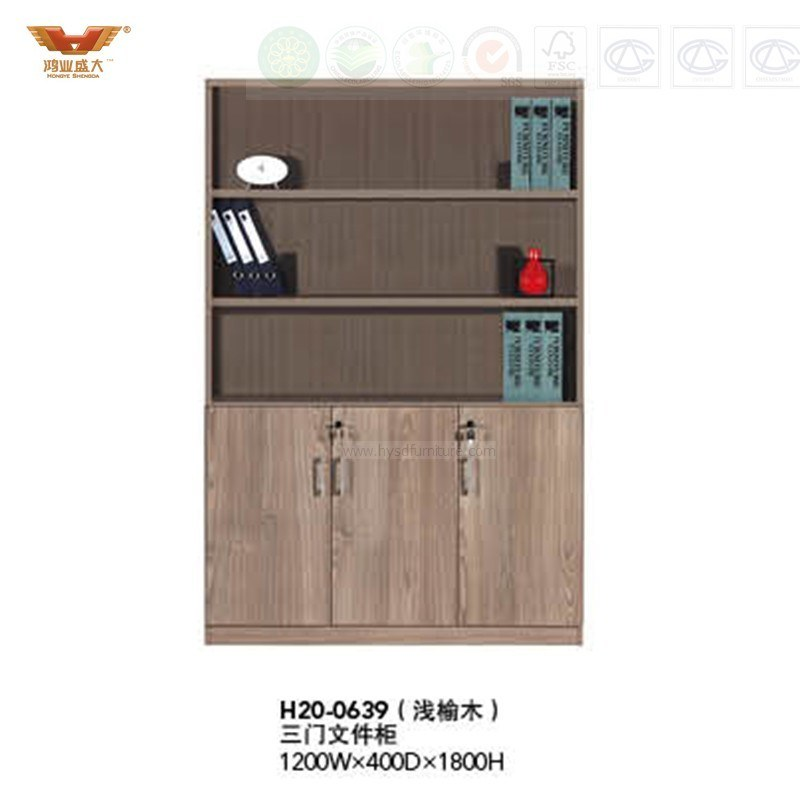 Office Furniture Wooden Bookcase Furniture File Cabinet Modular Cabinet (H20-0639)