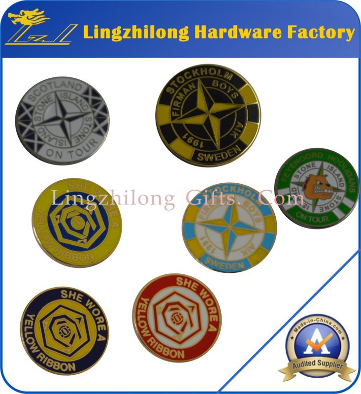 Bulk Souvenir Metal Stone Island Badge