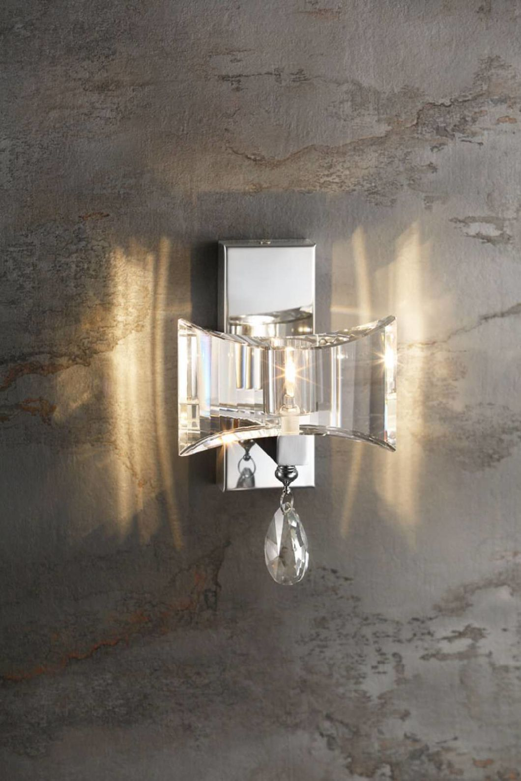 Decorative Clear Crystal Wall Light with G9 Socket for Hotel Project (MB-11892)