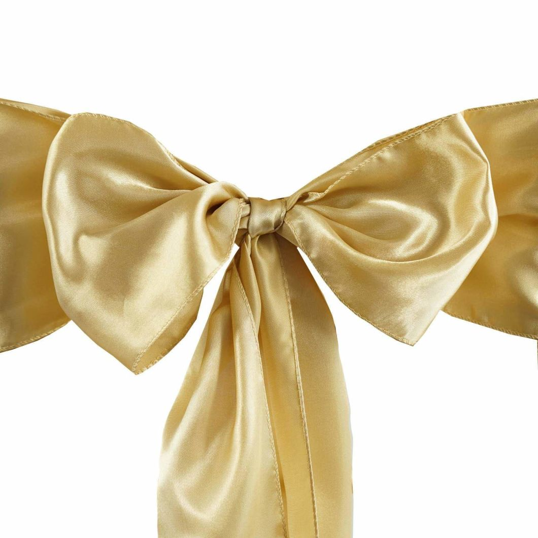 Satin Polyester Wedding Chair Bows