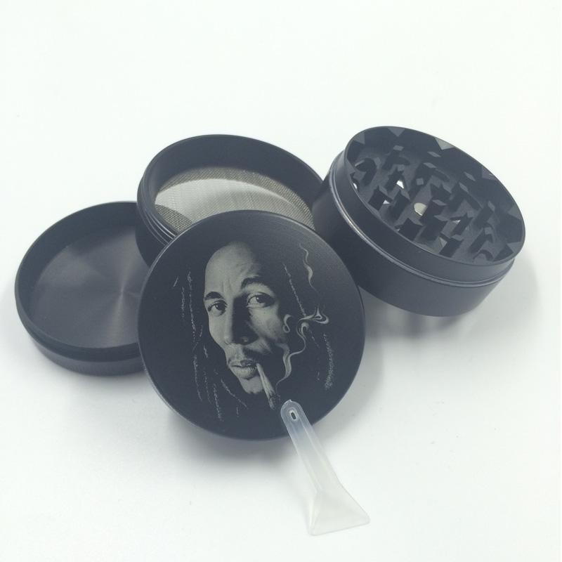 Cooler Handsome Facial Grinder for Tobacco Smoking Cigarette Crusher (ES-GD-013)
