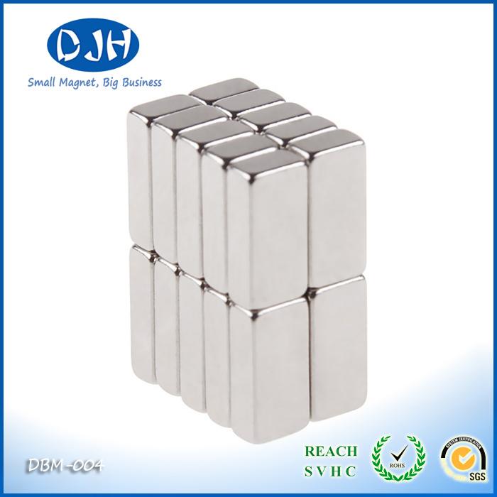 Neodymium 10 * 5 * 3 mm Block Magnet Magnetic Face 10 * 5 mm