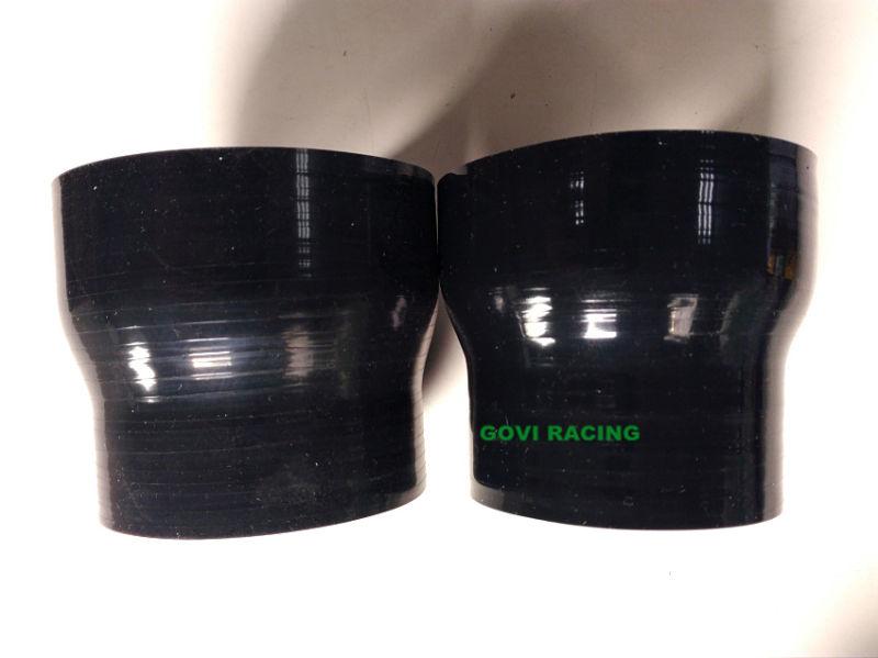 Black Silicone Reducer Hose Tube 63-76mm 2.5''-3'' Neck Universal Turbo