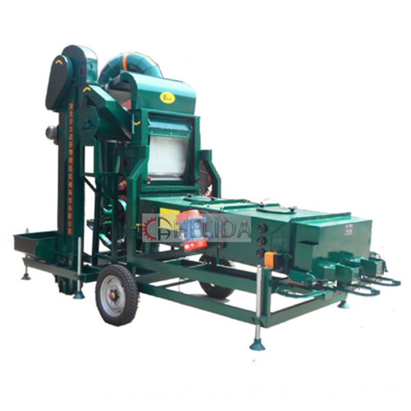 Rice Paddy Cleaning Machine