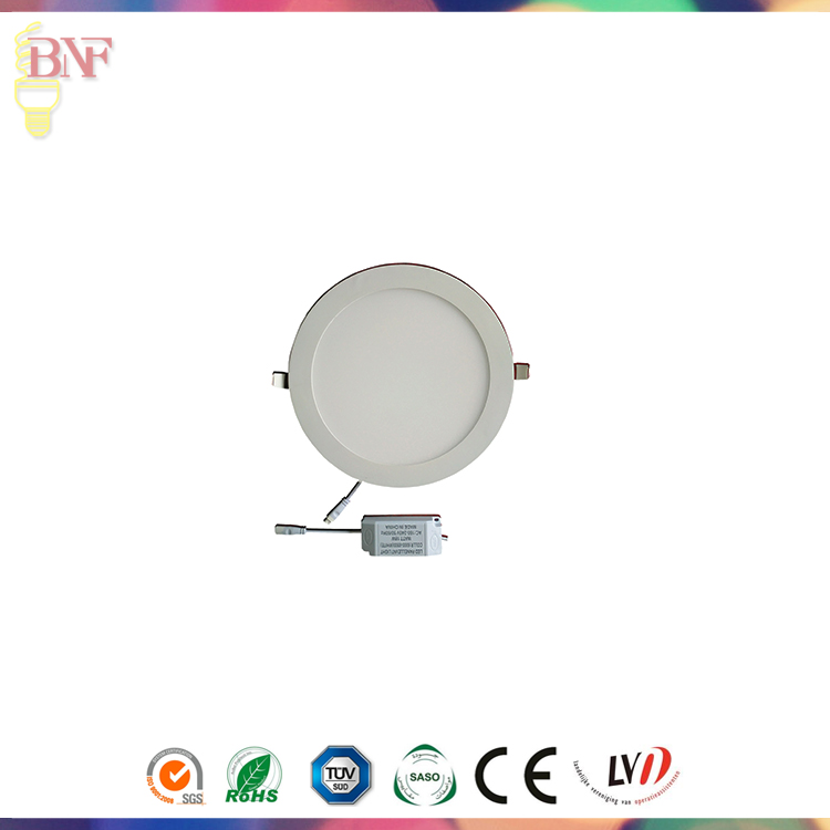 12W White LED Panel Light with Saso