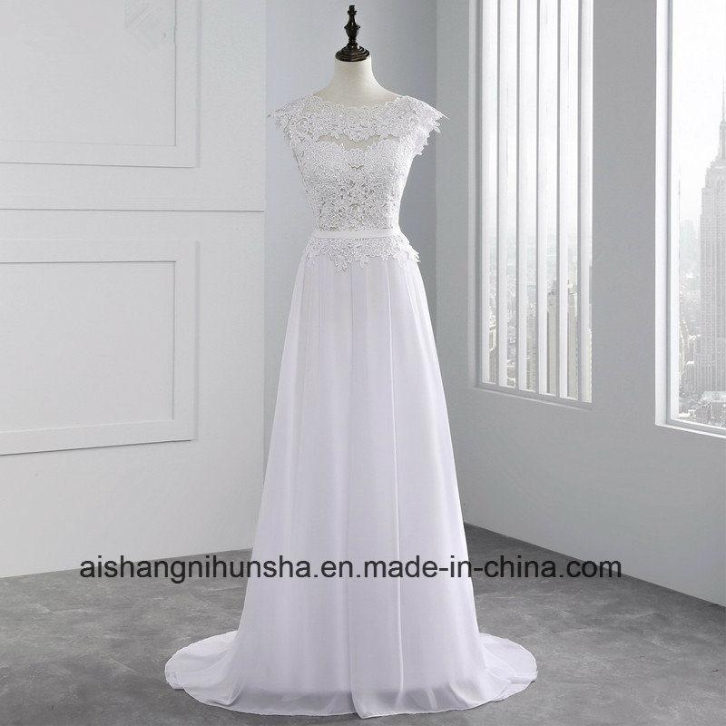 Women Sleeveless Chiffon Long Evening Party Prom Dress