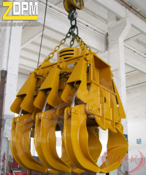 Electric Hydraulic Timber Grab