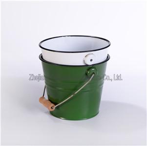Enamel Daliy Use Big Water Bucket