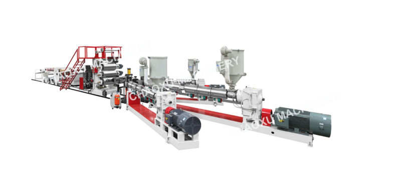 PC Twin Screw Plastic Compounding Extruding Machinery