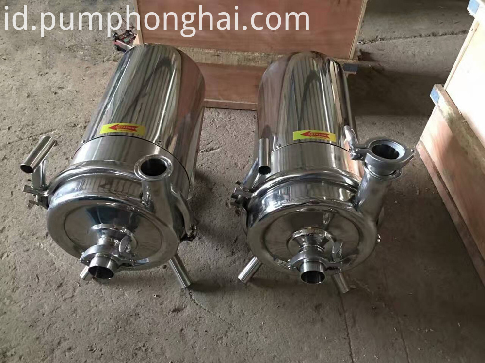 Sanitary Milk Centrifugal Pump