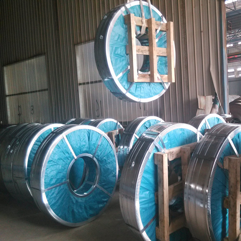 Dx51d Hot Dipped Galvanized Steel Strip Used for Making Profiles and C Purling