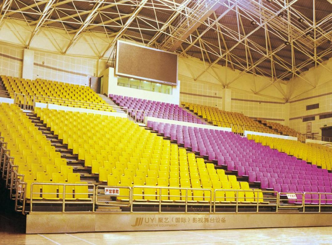 Telescopic Seating System Bleacher Seats Retractable Bleacher Seating Solutions Jy-769