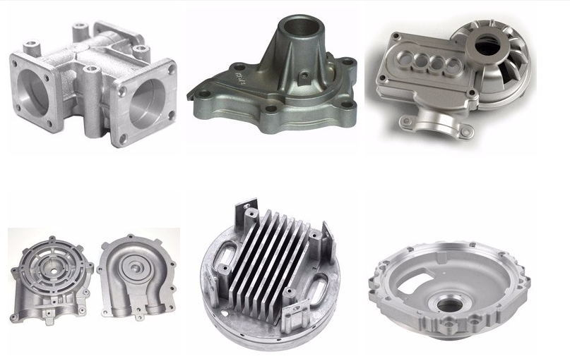 High Pressure Aluminum Die Casting Parts for Lighting, Electronic, Automotive Part