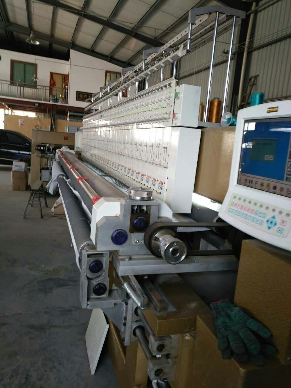 Hye-Q Quilting Embroidery Machine