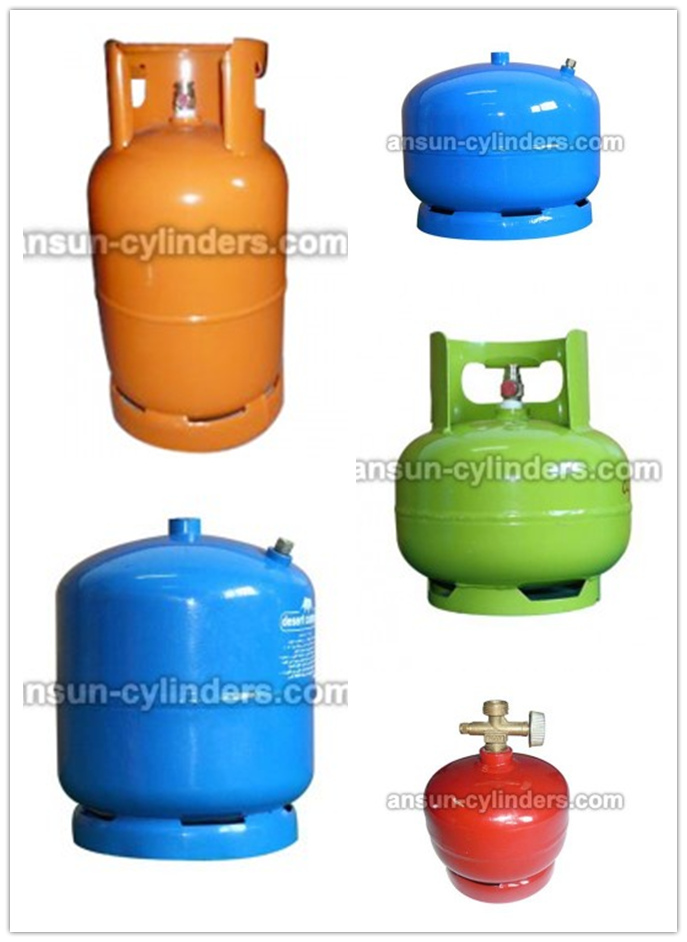 LPG Gas Cylinder&Steel Gas Tank (AS-LPG-6KGB)