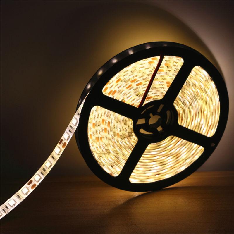 5630 30LED 10mm 5V 5m/Reel White LED Flexible Strip