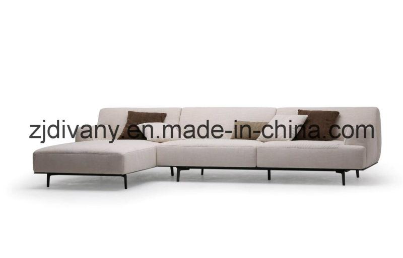 Italian Fashion Style Leather Sofa Home Sofa Furniture (D-79)