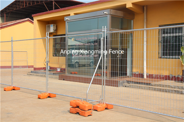 Au Type Popular Galvanized Temp Fence Temporary Construction Fencing with China Factory