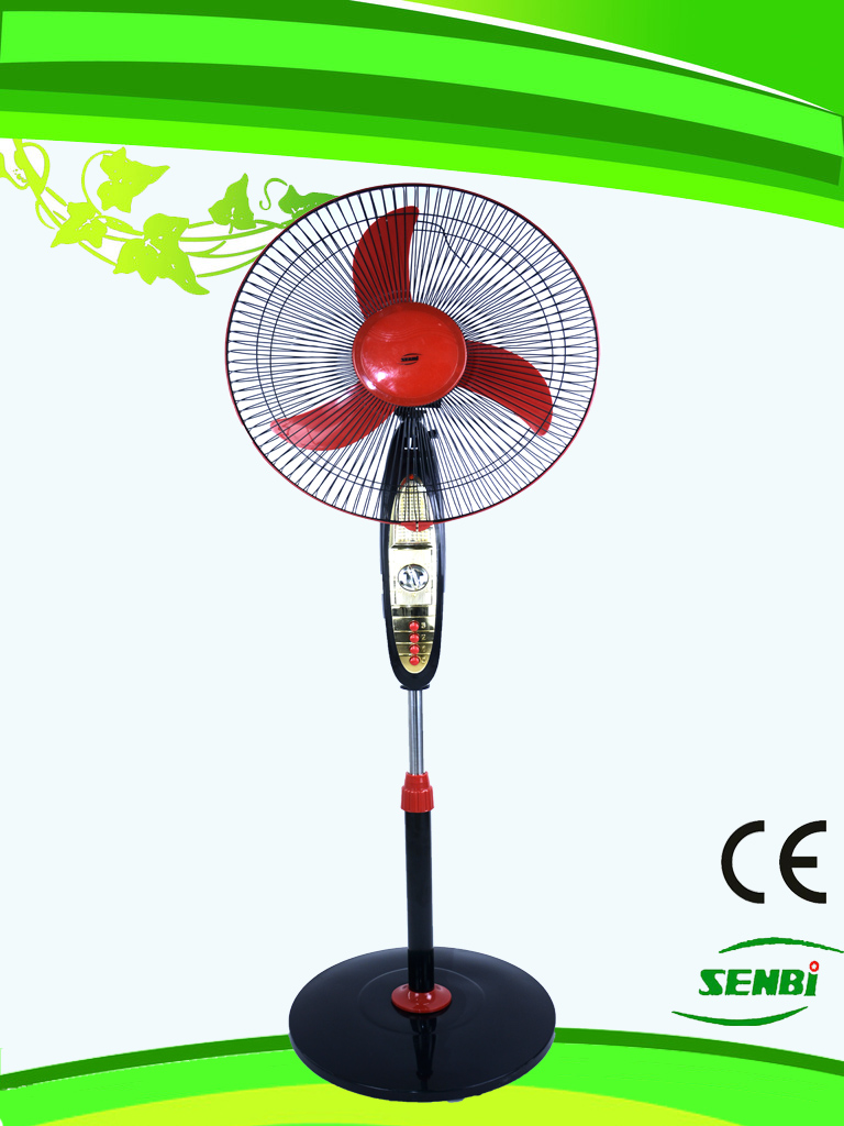 16 Inches AC110V Golden Panel Stand Fan (SB-S-AC16X)