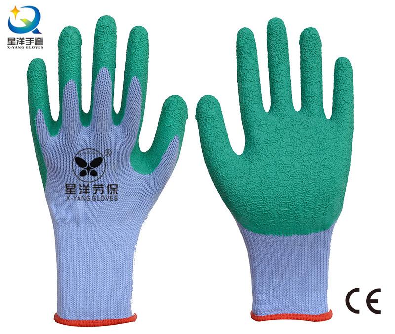 21 Gauge Yarn Latex Palm Coated Work Glove