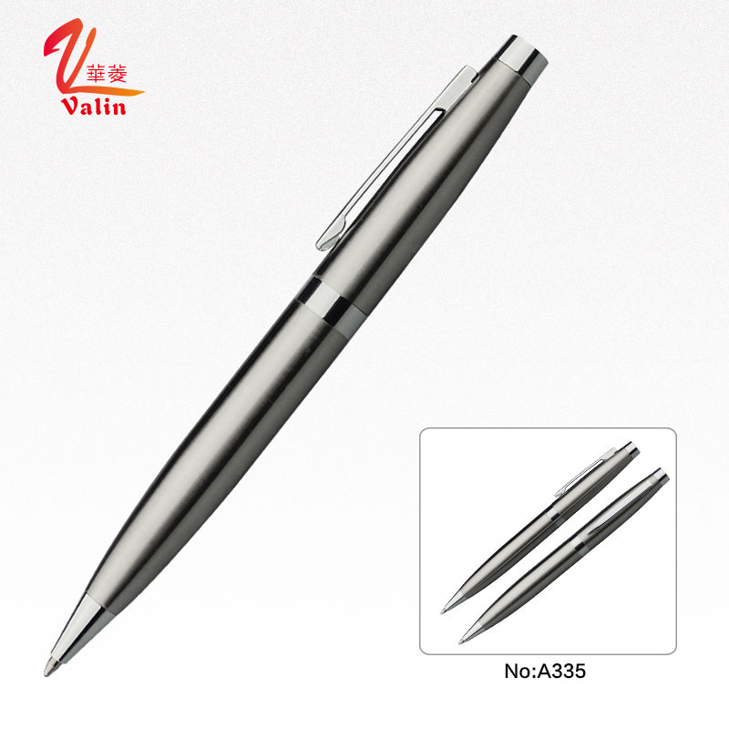 Fashion Silver Promotional High End Gift Ball Pen