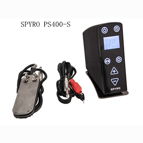 Pedal Type LED Tattoo Power Supply with Clip Cord for Tattoo Machine