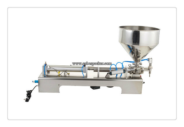 Pneumatic Stainless Steel Semi-Auto Cream Filling Machine