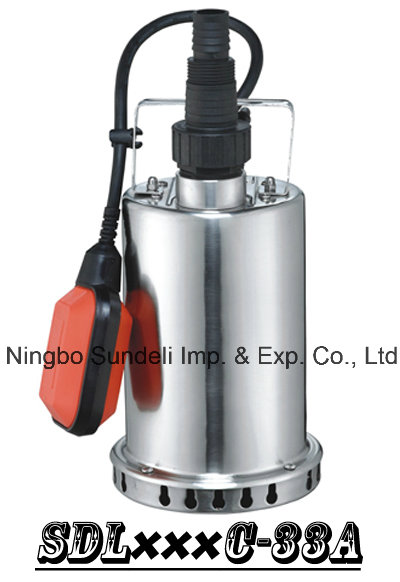 (SDL400C-33A) Stainless Steel Submersible Pump for Rain Water, Sea Water, Alcohol